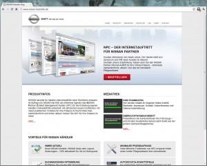 Startseite von www.nissan-haendler.de